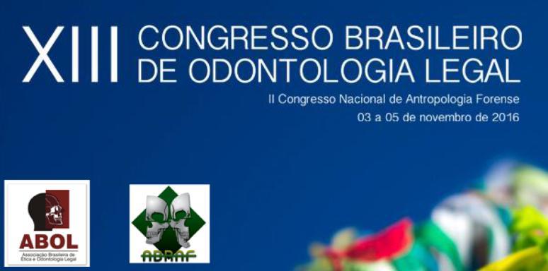 Visualizar v. 3 n. 4 (2016): Suplemento - Anais do XIII Congresso Brasileiro de Odontologia Legal